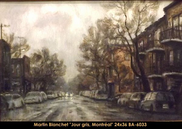 Original oil painting on canevas by Martin Blanchet #MartinBlanchet #Artist #CanadianArtist #QuebecArtist #Art #Oilpainting #OriginalPainting #FineArt #CityLandscape #Grayday #Montreal #Balcondart #MultiArtLtee