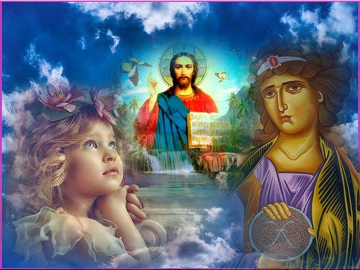 Οι Άγγελοι ευφραίνονται τόσο πολύ με τους ύμνους αγάπης μας στο Θεό, που σταματούν την δικιά τους δοξολογία, για να τους ακούσουν!        ...