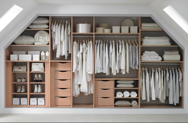 Good way to sound proof your loft conversion from the neighbours as well as provide ample wardrobe space.