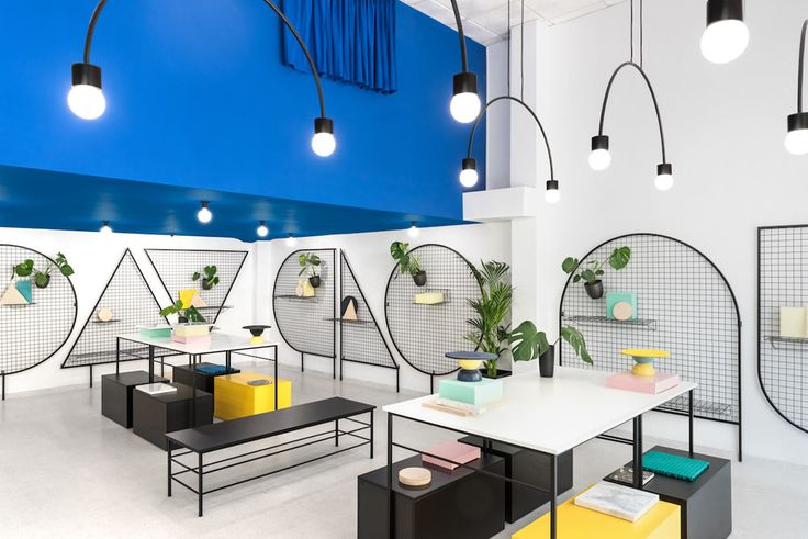 Masquespacio, known for their delightfully eccentric interiors and branding, has designed a new lifestyle shop for Gnomo in Valencia, Spain.