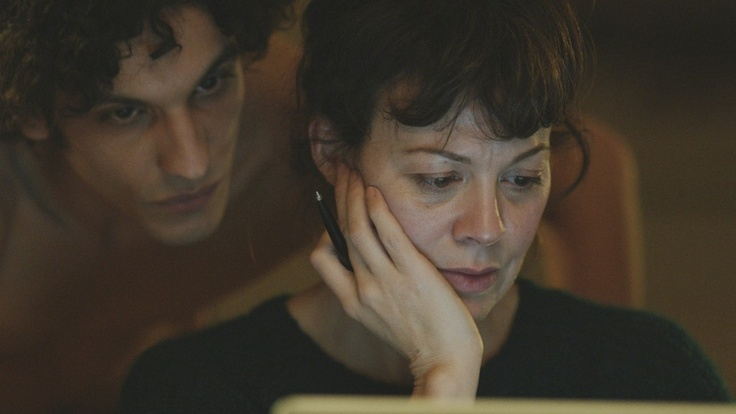 Flying Blind (2012), starring Helen McCrory and Najib Oudghiri.