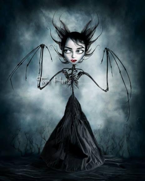 Toon Hertz #Gothic #Art #Illustration