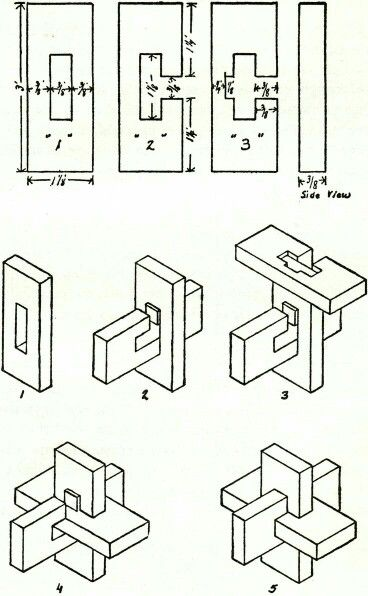 wooden ball puzzle instructions