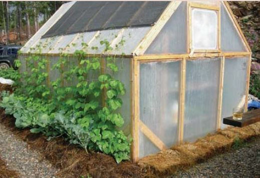 12 best images about greenhouse inspiration on pinterest for Easy to make greenhouse