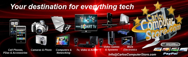 The best deals on Electronics, Computers Hardware, Laptops, PCs, Kindle, Tablets, Cell phones and Accessories, Video Games and more at 3DComputerStores.com