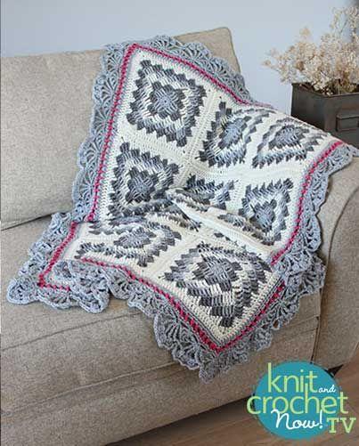 Geometric Crochet Afghan Pattern : 17 Best images about Season 7 Free Crochet Patterns on ...