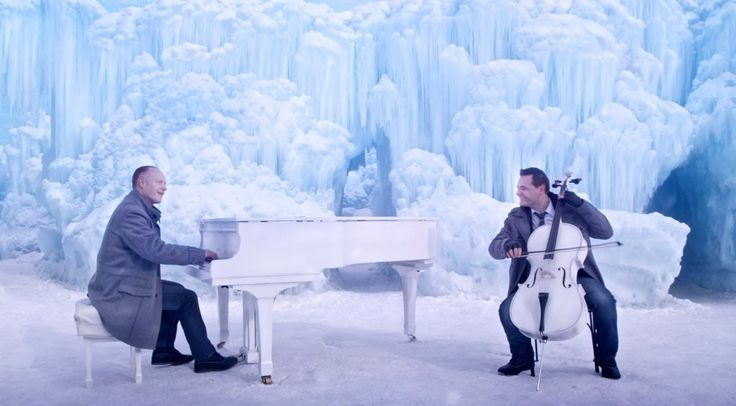 'Let It Go' From Disney's 'Frozen' Mixed With Vivaldi's 'Winter' Performed by The Piano Guys Inside the Ice Castles