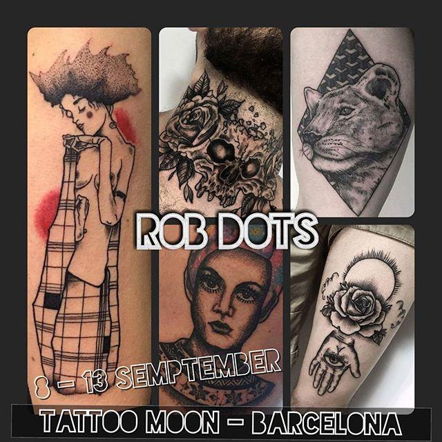 Por fin vuelvo a mi querida Barcelona ✴ 8-13 septiembre at @tattoo_moon , Barcelona.  Info & citas 📥 Direct 📩robdotstattoo@gmail.com ________________________________  @albertpicas @piesinquietos @cri7ciao  @bar_andorra_bcn @jr_t89 @berme.ja  #tattoo #robdots #barcelona #bcn #tattoobcn #tattooartist #bcnexploradores #bcntattoo #tatuaje #tatuajes #tatuador #barcelonagram #born #raval #ub #españa #dotwork #guestspot #tattooguest #tatuador #catalunya #eixample #barrio #sabadell #girona…