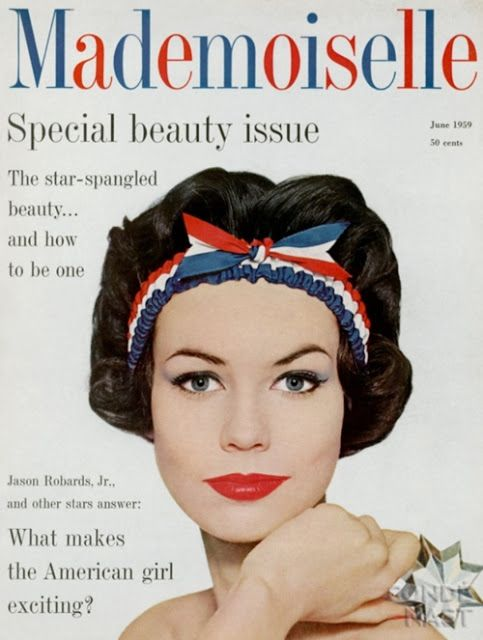 Ciao Bellissima - Vintage Cover Coquettes; Mademoiselle June 1959