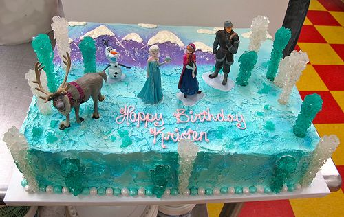 Frozen Movie Cake Images