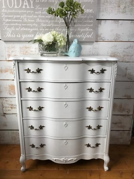 French Provincial Tallboy Dresser  The Passionate Home - Langley