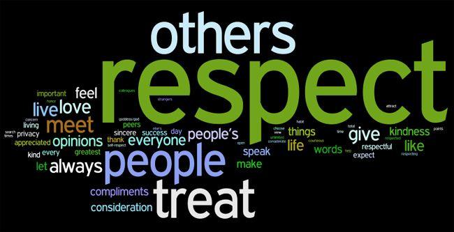 Show some respect | Richard Arblaster