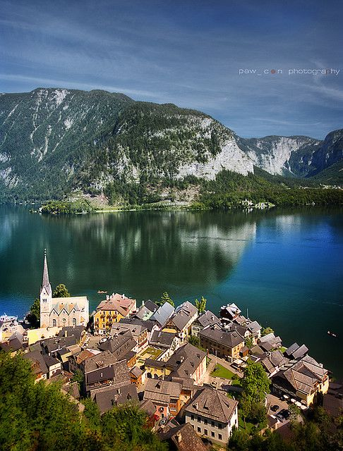 Hallstatt, #Austria. Check out that view! http://www.thomascook.com/lp/1x6-en6ujz/holidays-austria?utm_medium=soc&utm_source=pinterest&utm_campaign=engage&utm_content=posting