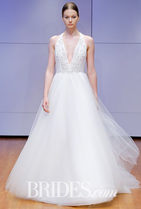 Tulle ball gown with crystal-embellished bodice Rivini by Rita Vinieris Wedding Dress - Fall 2016 - Brides.com