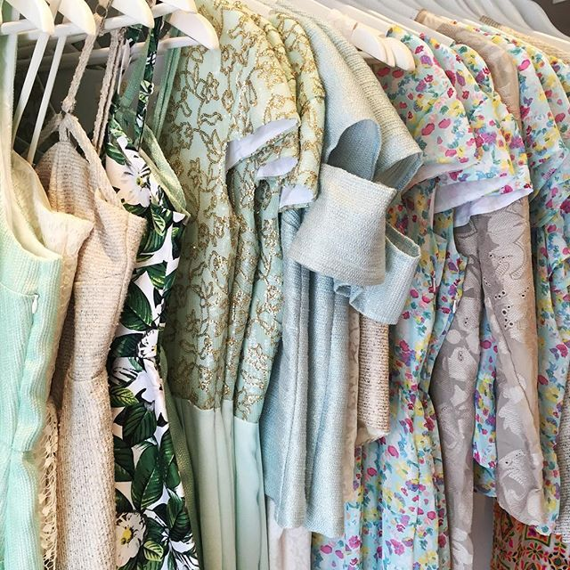 Racks are looking nice and fresh at AW Boutique today!