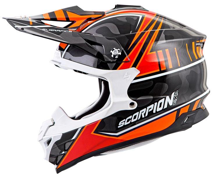 Scorpion VX-35 MIRAMAR (ORG) DOT+ECE *Snow Compatible*