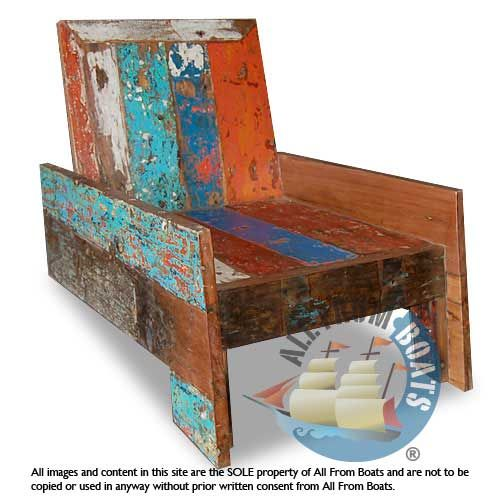 Brazil Chair Made From Reclaimed Boat Timber. Nautical, Recycled,  Reclaimed, Boatwood,