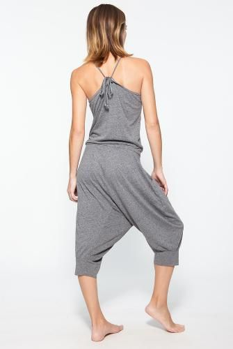 Omgirl Gym Jumpsuit in Fin (Grey). Available at http://evolvefitwear.com