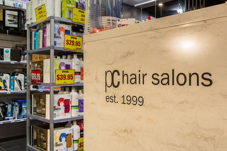PC Hair Salons is the perfect destination for everything hair at value for money prices. The dual shop design draws customers to specifically enter our salon or our retail store full of your favourite hair care products.