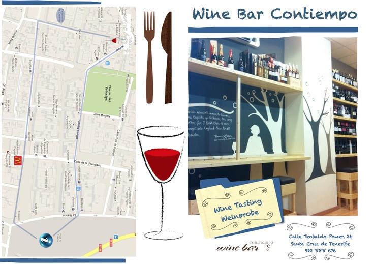 Cómo llegar al #Wine Bar #Contiempo, Santa Cruz de #Tenerife