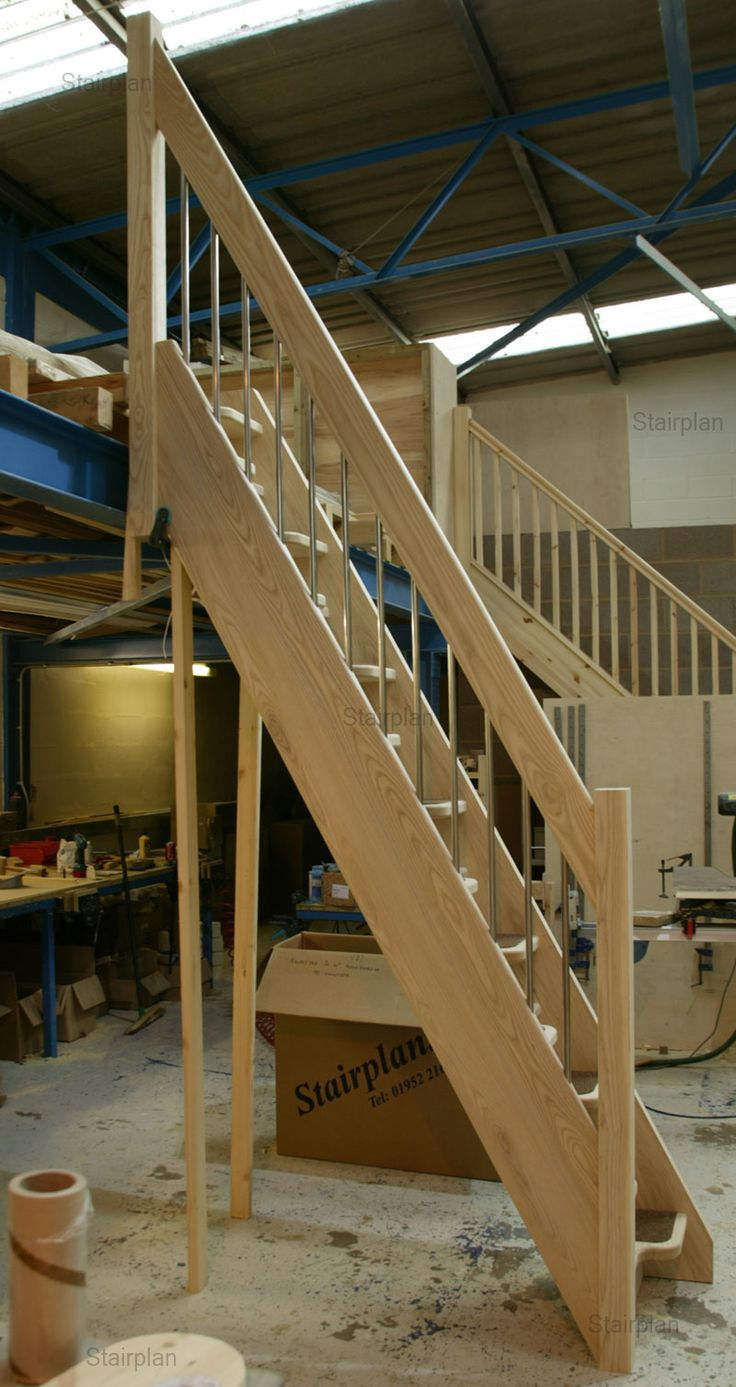 Loft access stairs and ladders san francisco by royo architects - Ash Space Saver Staircases For Lofts