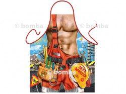 Zástera Sexi robotník je vtipná kuchárska zástera určená pre všetkých pracovitých mužov s vypracovanými svalmi. Zástera je s kvalitnou potlačou vo vysokom rozlíšení. Zásteru je možné prať v pračke do teploty 50°C.