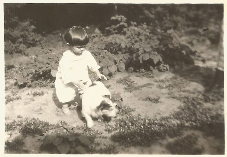 """Vintage Photo """"Doggone Cute"""" Terrier Blurry Motion Playmate Toddler Chubby Little Legs Found Photo by SunshineVintagePhoto on Etsy https://www.etsy.com/listing/481464436/vintage-photo-doggone-cute-terrier"""