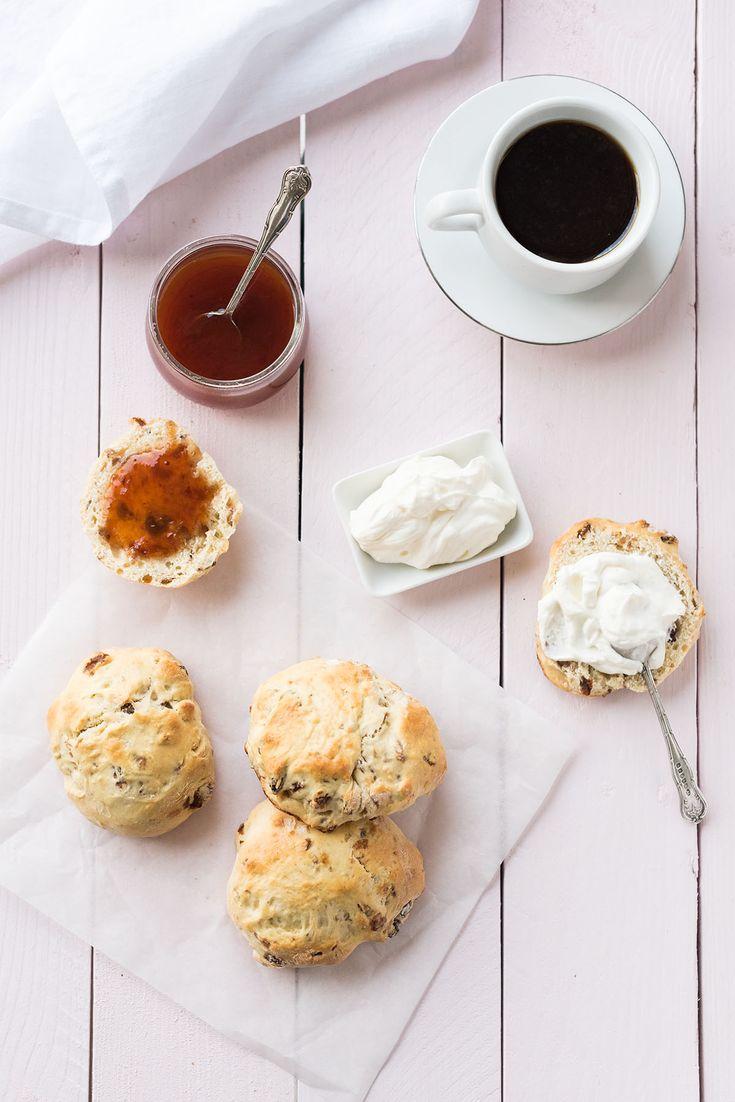 Scones aux raisins secs - Test Magimix Cook Expert Lilie Bakery http://liliebakery.fr/robot-cook-expert-magimix-test-avis/
