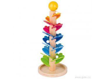 Kuličková dráha - zpívající pagoda