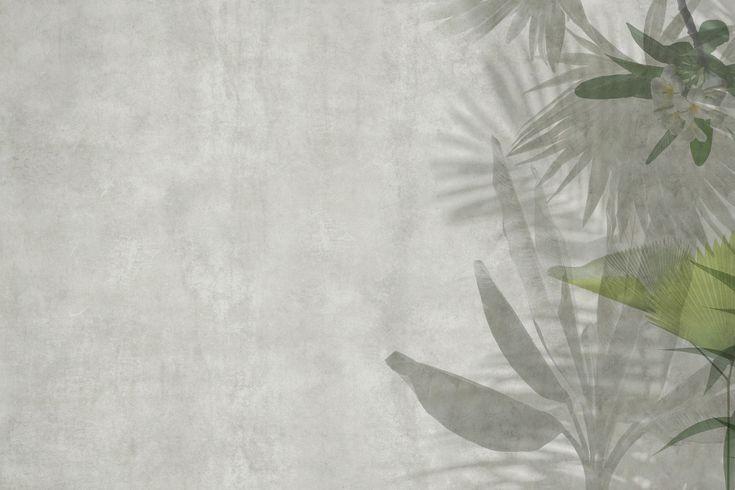 Papel pintado de vinilo de flores EXOTIC Colección Paysage by GLAMORA
