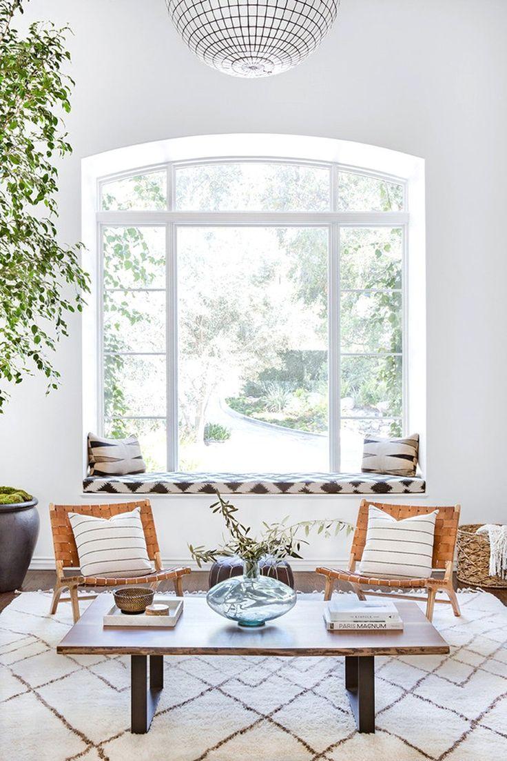 boho meets modern in this mediterranean style home tour home decor rh pinterest com