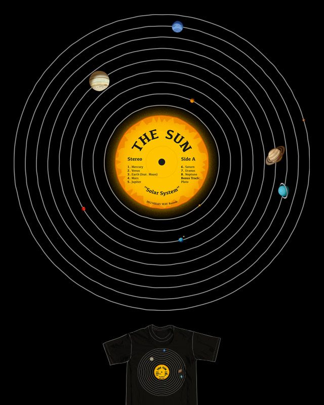 Score Solar System LP by ramsespujol on Threadless