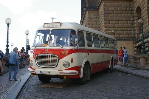 Czech Skoda 708 RTO bus