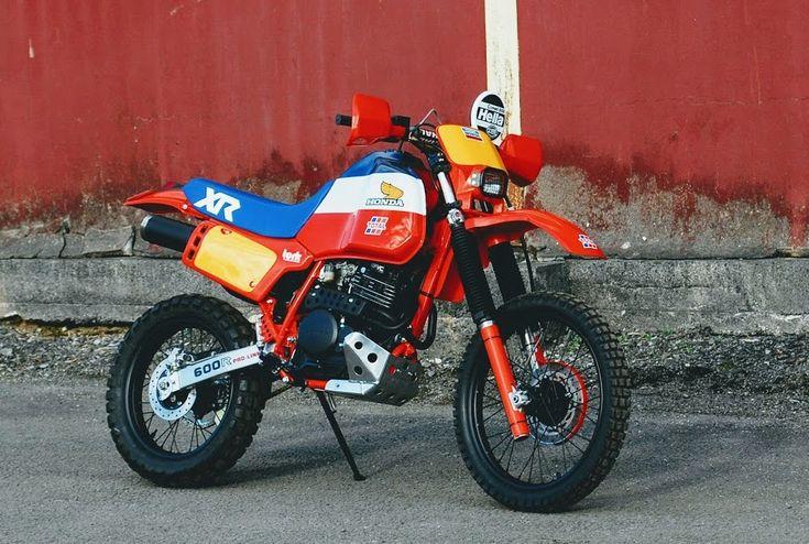 Honda XL600 Dakar by Andrew Greenland