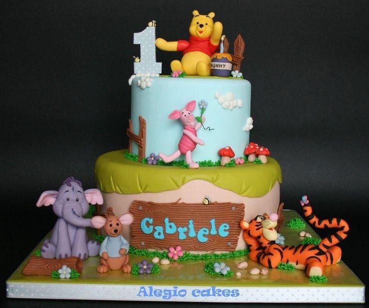 Winnie Pooh and friends - Cake by Alessandra Rainone