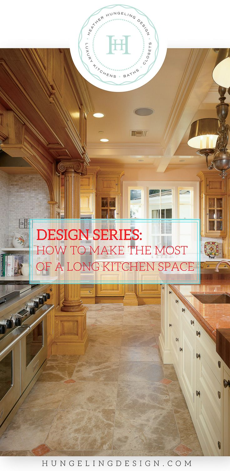 how to make the most of a long kitchen in 2018 kitchen design rh pinterest com
