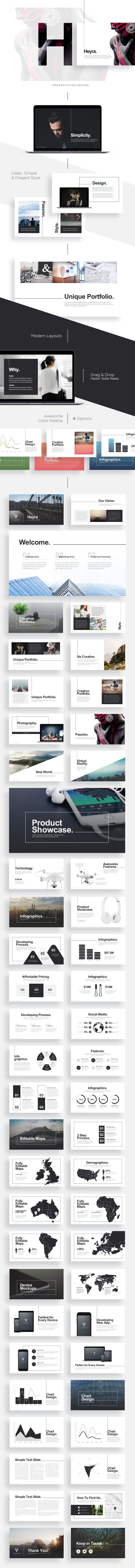 Heyra Powerpoint Template — PPTX #powerpoint #heyra • Download ➝ https://graphicriver.net/item/heyra-powerpoint-template/19618886?ref=pxcr