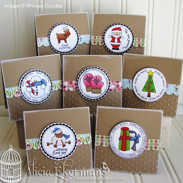 Call Me Crafty Al: Whimsie Doodles November Release Blog Hop: Christmas Cards, Galleries, Craft, Card Tags, Cardmaking, Christmas Greetings, Card Ideas