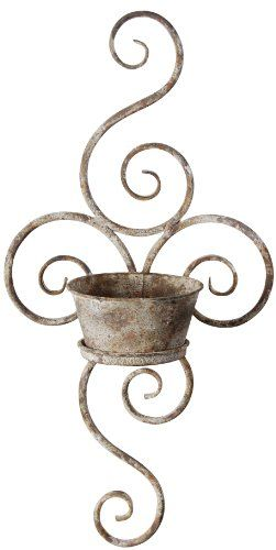 Esschert Design USA AM02 Aged Metal Wall Planter Esschert Design USA,http://www.amazon.com/dp/B003TEG6ZW/ref=cm_sw_r_pi_dp_BHLitb05E3CEBEWJ
