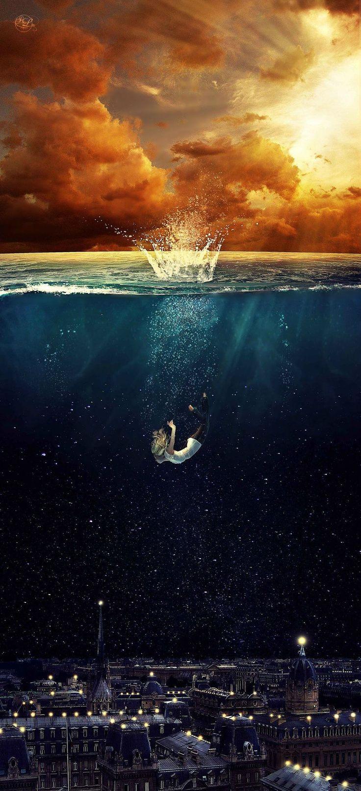 Ela foi tirada da superfície e entregue às profundezas que é o mundo