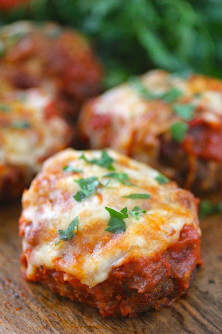 ... Pinterest | Chicken parmesan meatloaf, Parmesan and Meatloaf muffins