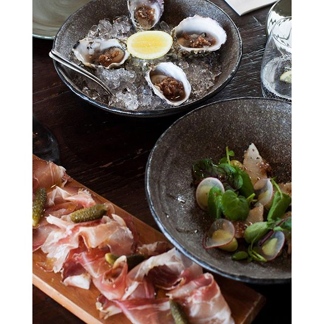 Salumi & Oysters #salumi #oysters #fresh #quality #local #produce #meletos #cafe #yarravalley