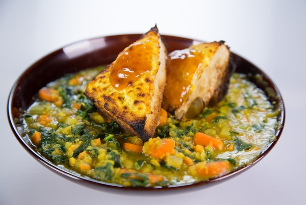 the chew   Recipe    Daphne Oz's Red Lentil And Sweet Potato Stew