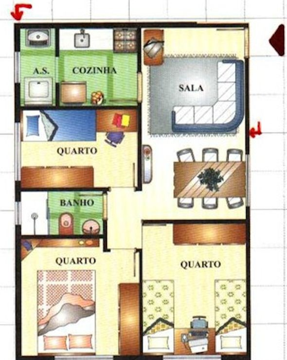 40 best planos images on Pinterest Floor plans, My house and