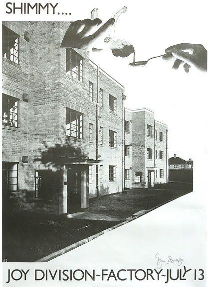 Joy Division – 1979 Factory Manchester Concert Poster   #joydivision