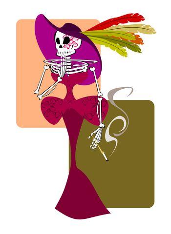 Festeja el Día de Muertos escribiendo calaveras con tus hijos: La Catrina es un personaje principal en las calaveras