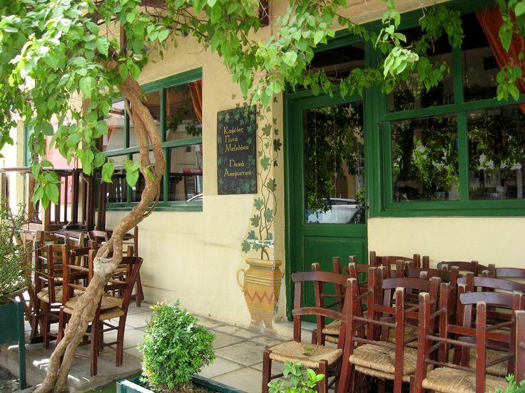 Taverna in Heraklion, Crete