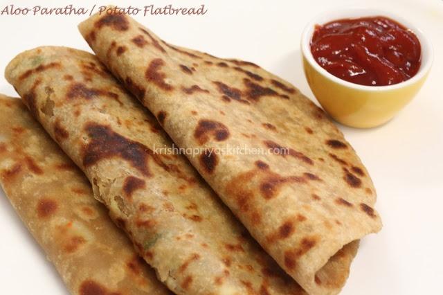 Aloo Parathas / Potato FlatBread