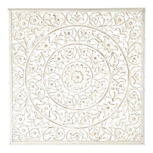 Amazing Ranakpur white wall panel