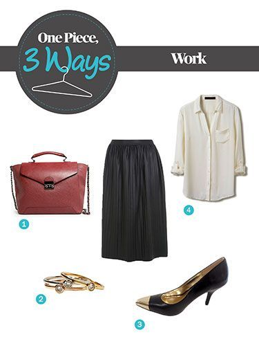 1 Piece, 3 Ways: How to Style the Hottest Skirt of the Season – #hottest #piece …